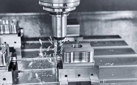 High rigidity for stable machining process